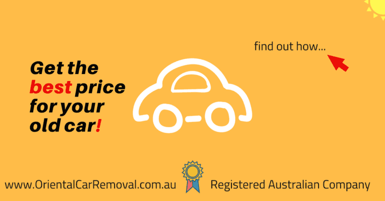 Get Best price for Your Old Car